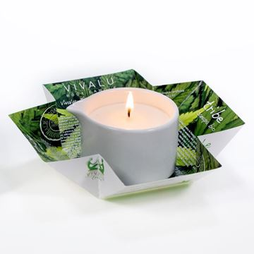 Immagine di TRIBE VIVALU BIO HEMP OIL MASSAGE CANDLE