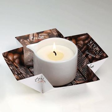 Immagine di TRIBE VIVALU CAFFE' MASSAGE CANDLE