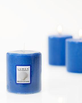 candela profumata brezza marina