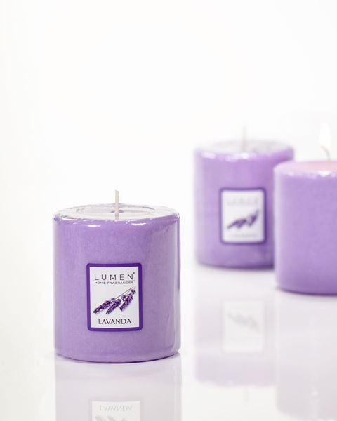 candela profumata Lavanda