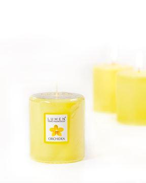candela profumata Orchidea