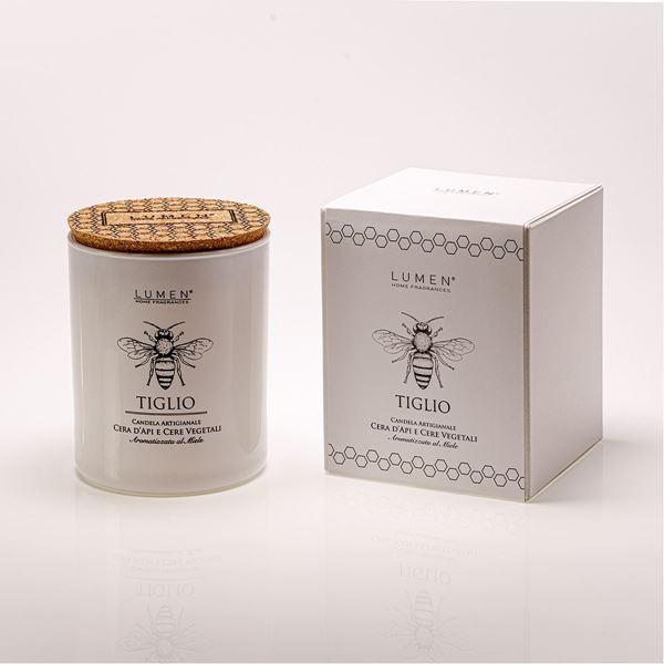 Candela Natura Amica cera d'api Tiglio
